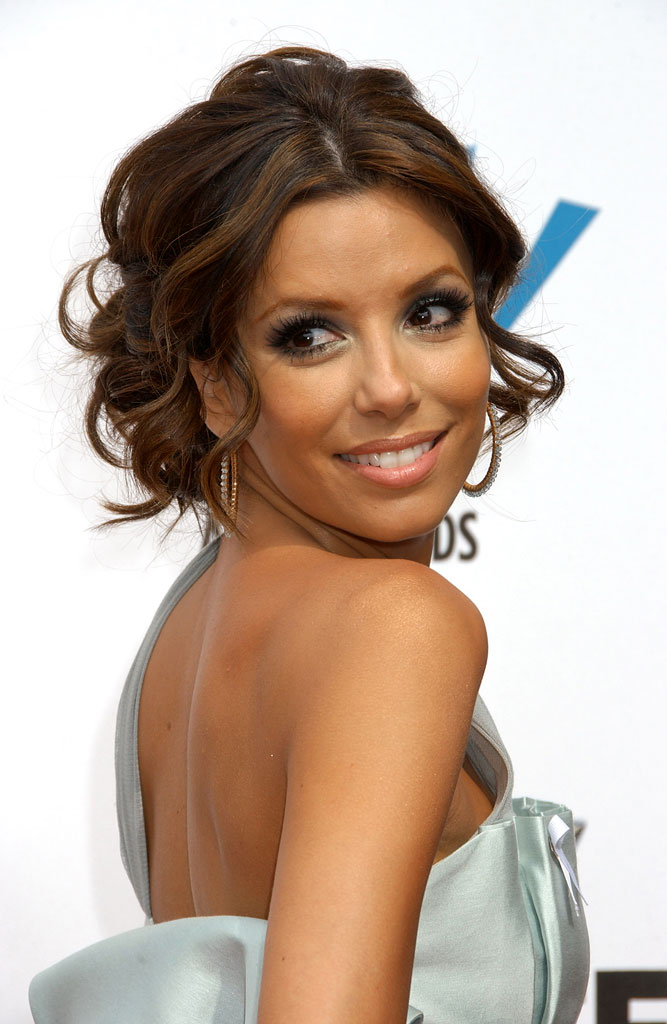 celebrity hairstyles eva longoria. celeb hairstyles that