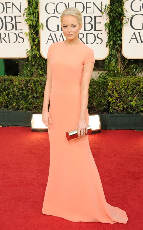 Looks I Love At The Golden Globes 2011 » Emma Stone Golden Globes 2011