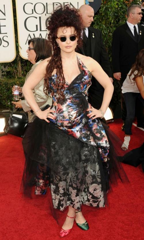 Looks I Love At The Golden Globes 2011 » Helena Bonham Carter Golden Globes