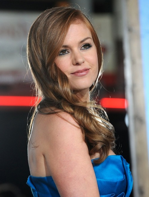 isla fisher dresses. Isla Fisher Blue Dress 5